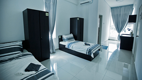 Accommodation for Limkokwing University Malaysia